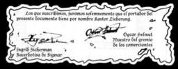Documentos de Kastor Lieberung