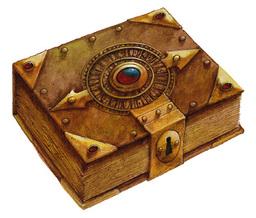 Tin Wizard's Spellbook