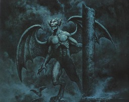 Winged monster