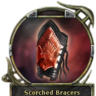 Scorched Bracers