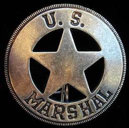 US Marshal Badge no. 238