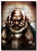 Thaker Testa di Pietra degli Scudi di Roccia, Principe Duergar , figlio di Ulrig esta di roccia