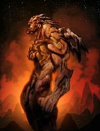 Oshar Akra il Nero Demone delle Sabbie