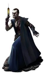Filge the Deranged Necromancer