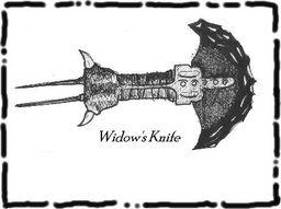 Widow's knife
